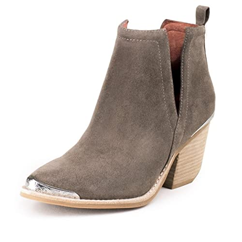 amazon com jeffrey campbell cromwell taupe distressed suede boots