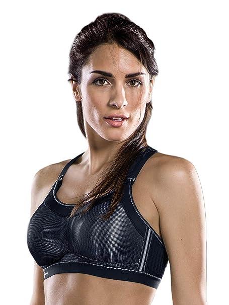 Anita - Sujetador Deportivo Momentum Pro para Mujer 5539 Negro EU 80 / ES 95 C: Amazon.es: Ropa y accesorios