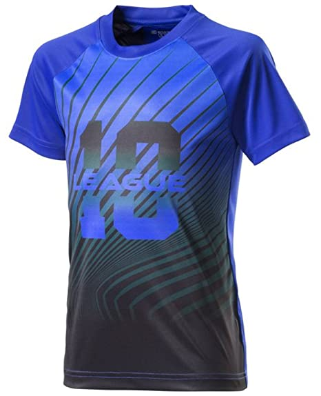 ENERGETICS Niños Deportes Entrenamiento de Fútbol Camiseta de Diego Azul d4bccc28842bc