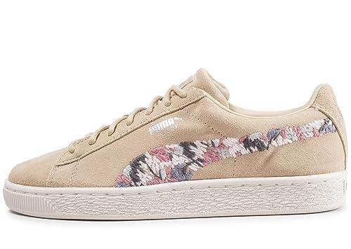 best service e89f0 696e0 Puma Sneakers Suede Sunfade Stitch Women Beige Size 40 ...