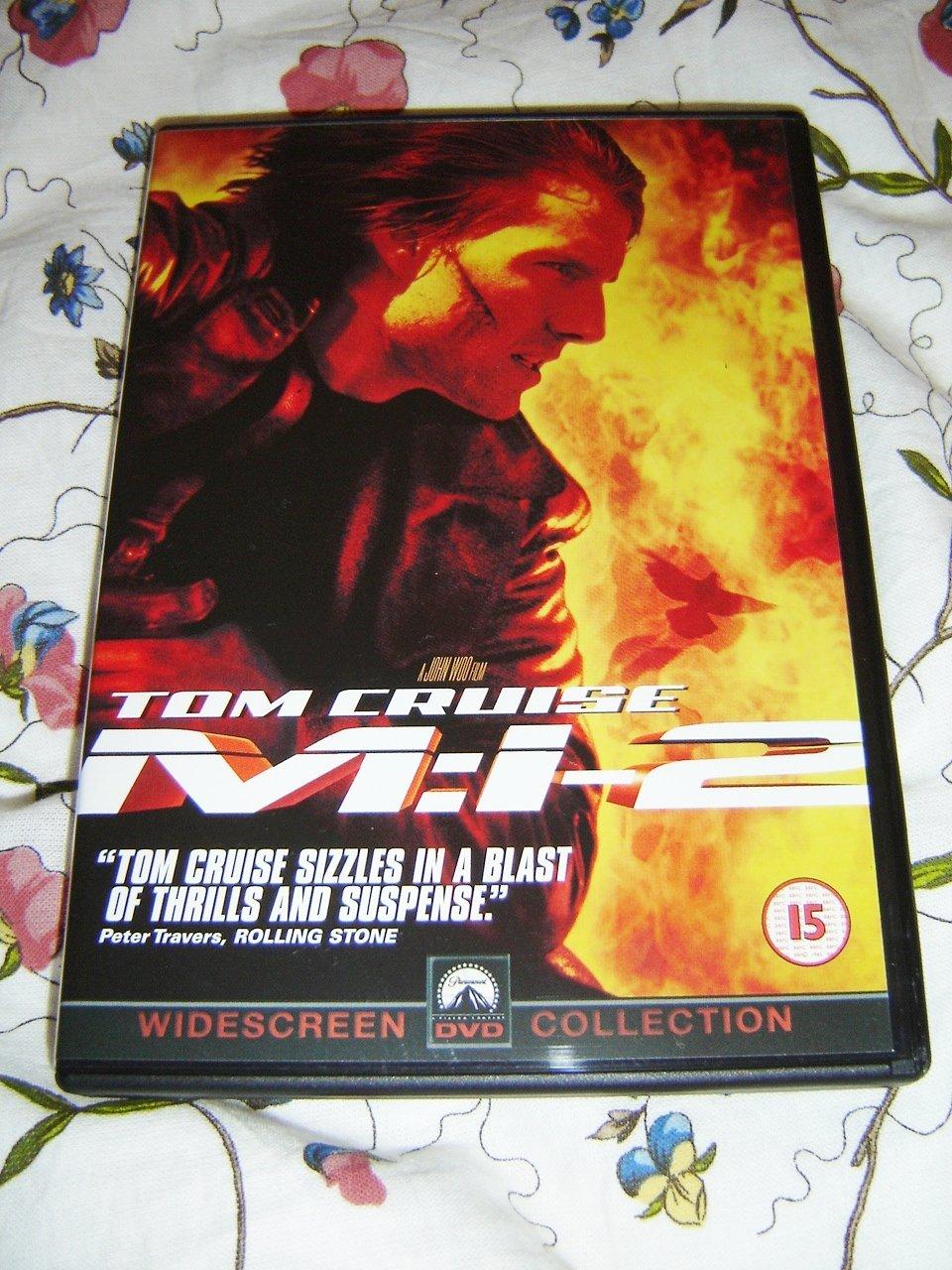 Amazon Com Mission Impossible Ii 2000 M I 2 Tom Cruise Dougray Scott Thandie Newton John Woo Movies Tv