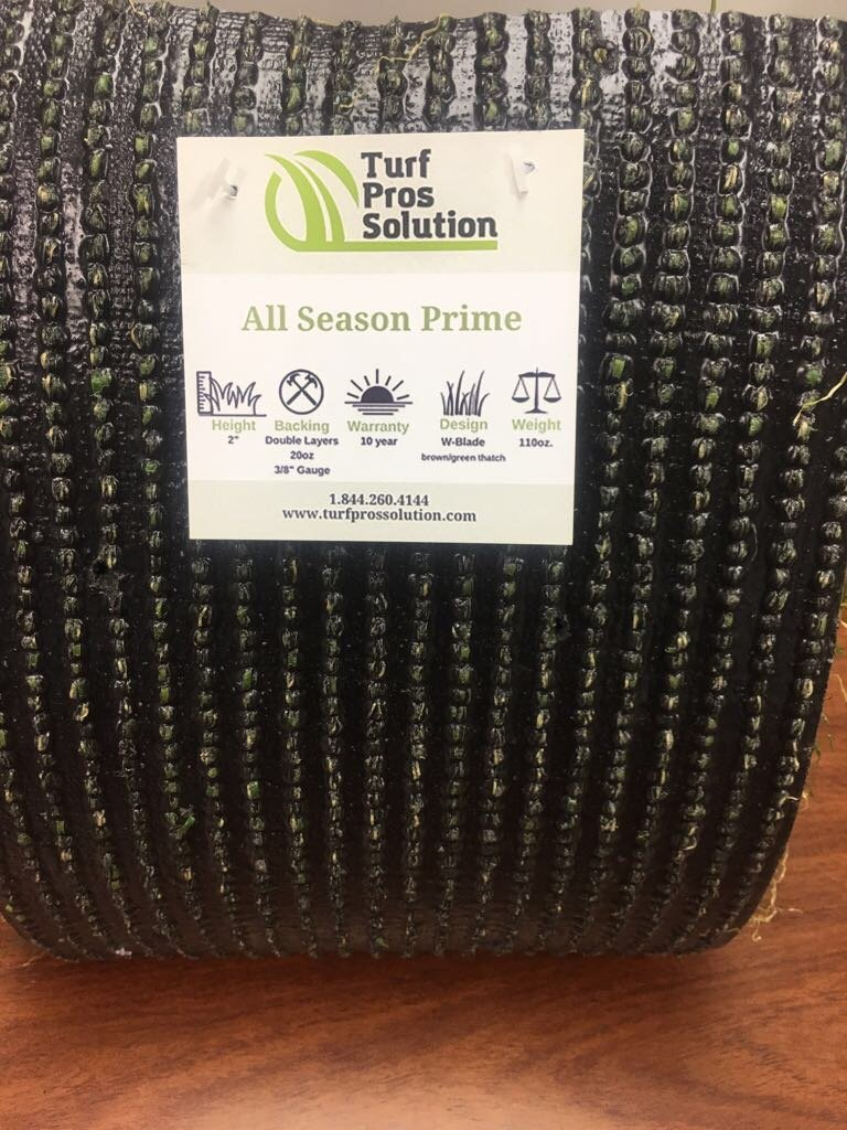 All Season Prime Synthetic Grass - Artificial Turf - Drainage Holes, 2'' blades Great for Sunny Climates (10' x 15') by Turf Pros Solution (Image #2)