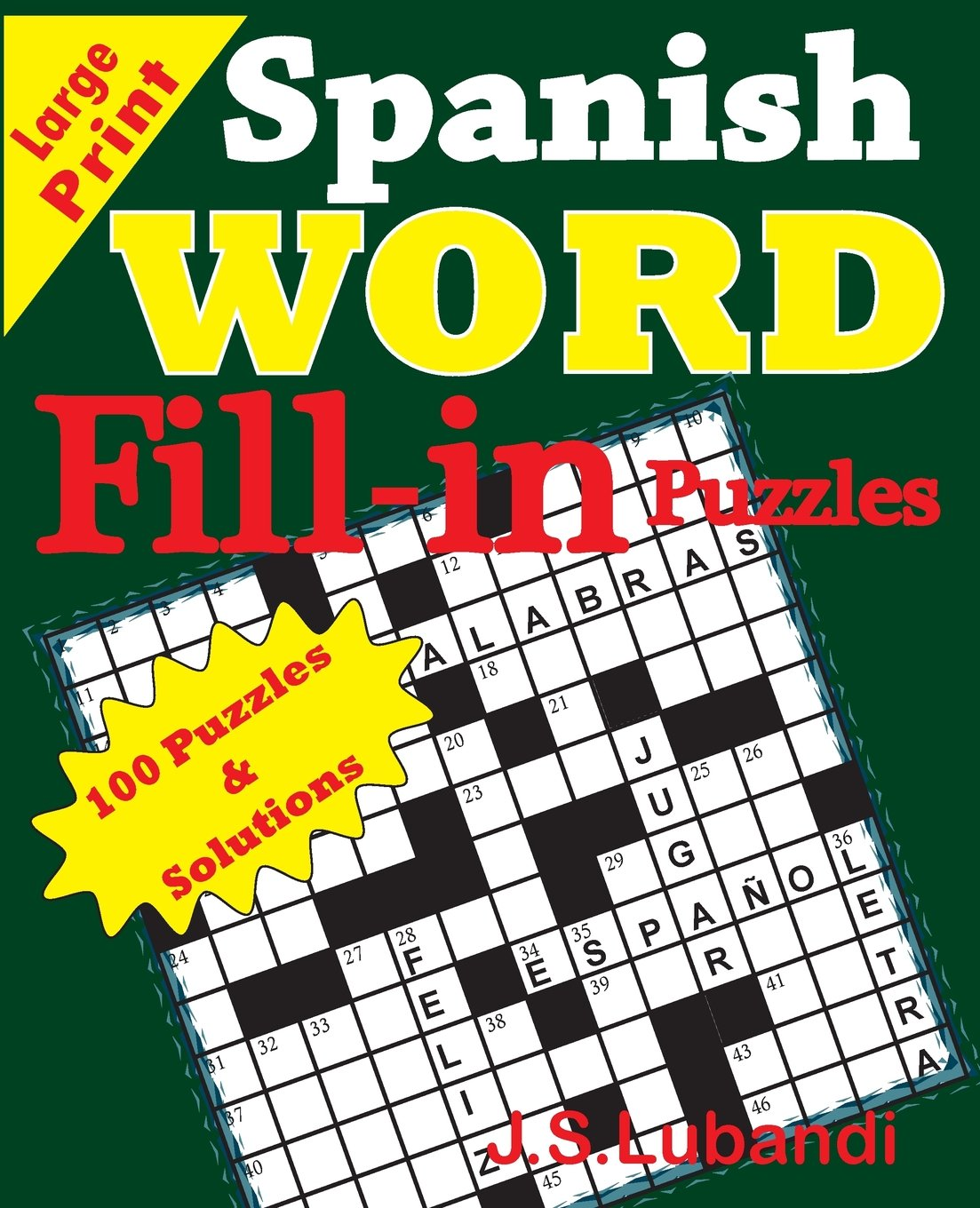 Download Spanish Word Fill - in Puzzles (Spanish Edition) pdf epub