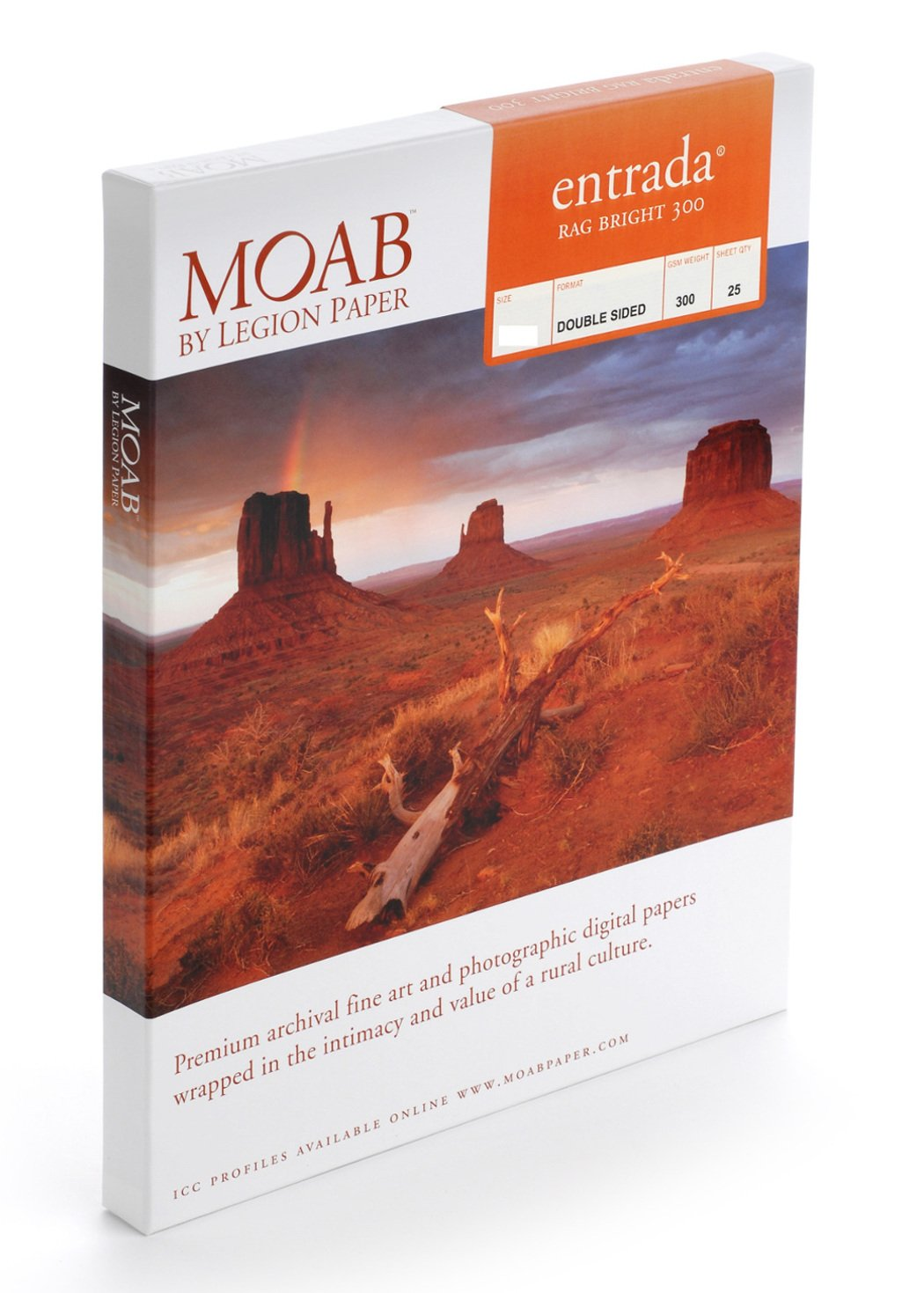 Moab Entrada Rag Paper (13 x 19''; 25 sheets)