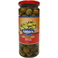 Abbie's Olives - Green Pitted, 450g Jar