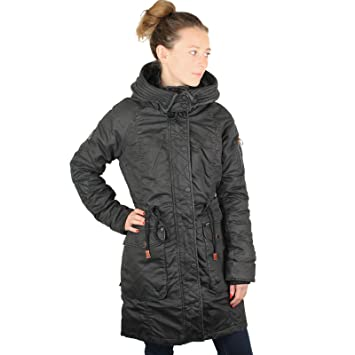 khujo Mell Jacket 1123CO173-580 Damenjacke Mud Gr. M  Amazon.de ... 09b6884d5a
