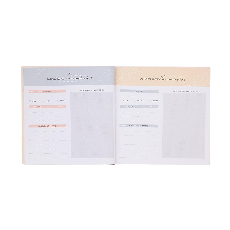 Mr. Wonderful MRW10 - Libro de firmas de una boda genial
