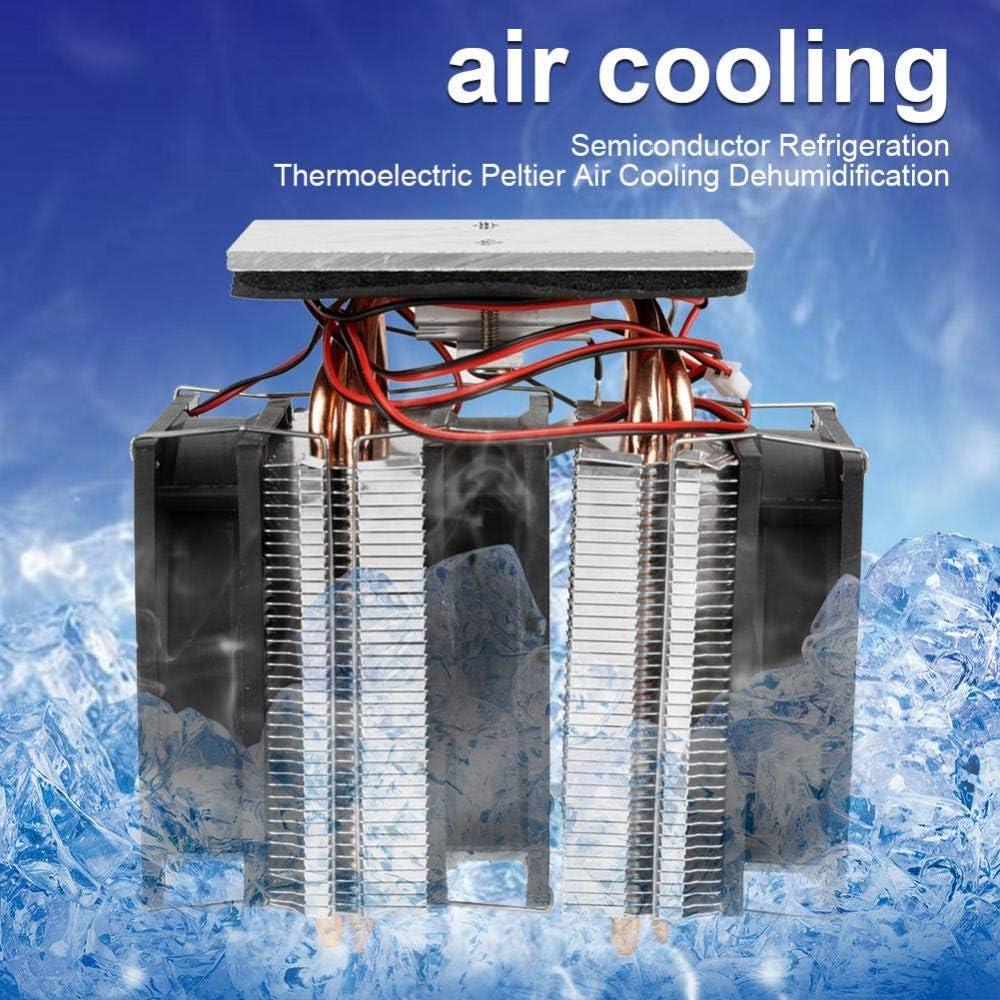 Tool Parts Refrigeration Cooling System Semiconductor Cooler Refrigeration Cooling Device 12V 10A DIY Mini Fridge