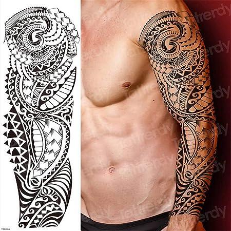 tzxdbh 3pcs, Tatuajes temporales de la Manga del Tatuaje del ...