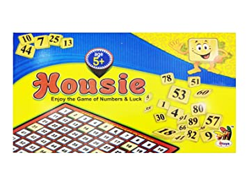 Tefarah Housie Game Set / Tambola Game Set ( with 48 Reusable Tickets+ 600 Perforated Tickets) for Family /Friends/Kitty Entertainment by Tefarah Decor