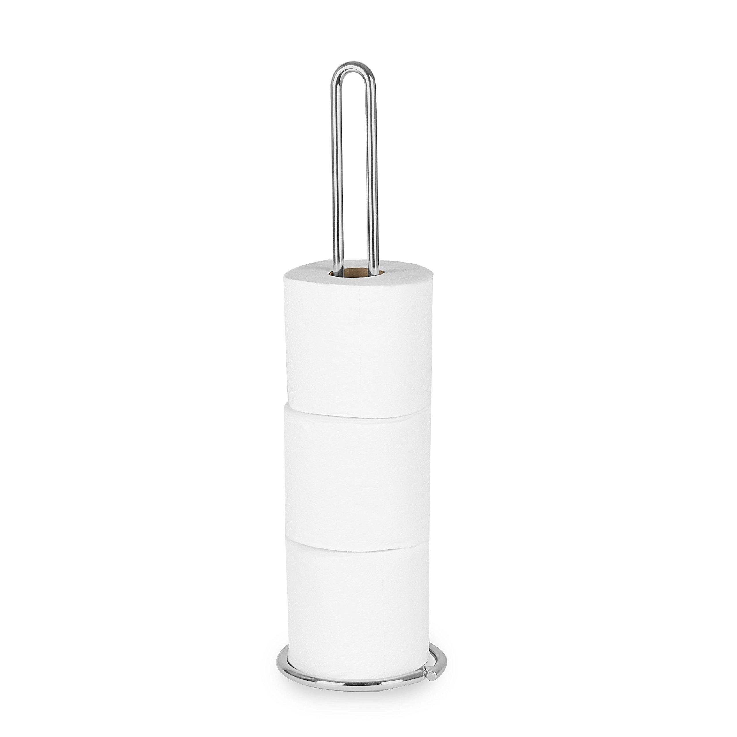 Spectrum Diversified Euro Toilet Tissue Reserve, Toilet Paper Holder, Toilet Roll Holder, Chrome