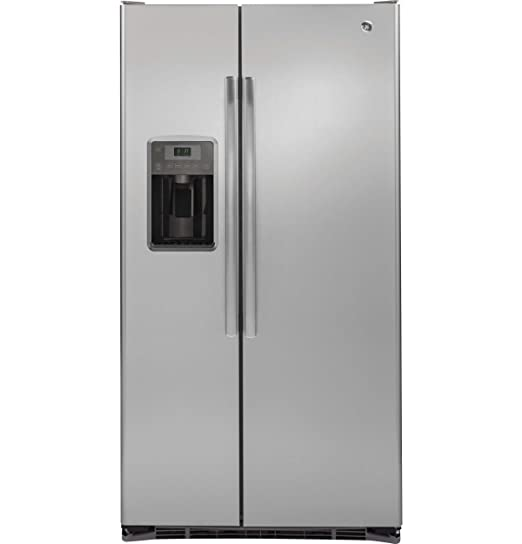 Amazon.com: GE gzs22dsjss 21,9 CU. FT. Acero inoxidable ...