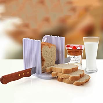 StillCool cocina Pan máquina de cortar rebanar pan cortador corte corta Guía de herramienta de la cocina: Amazon.es: Hogar