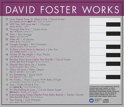 Various Artists David Foster Works Amazon Com Music