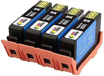 TONER EXPERTE® 4 XL Negros Cartuchos de Tinta compatibles con HP ...