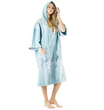 c2345620ba Vivida Lifestyle Hooded Poncho Towel and Changing Robe for Beach ...