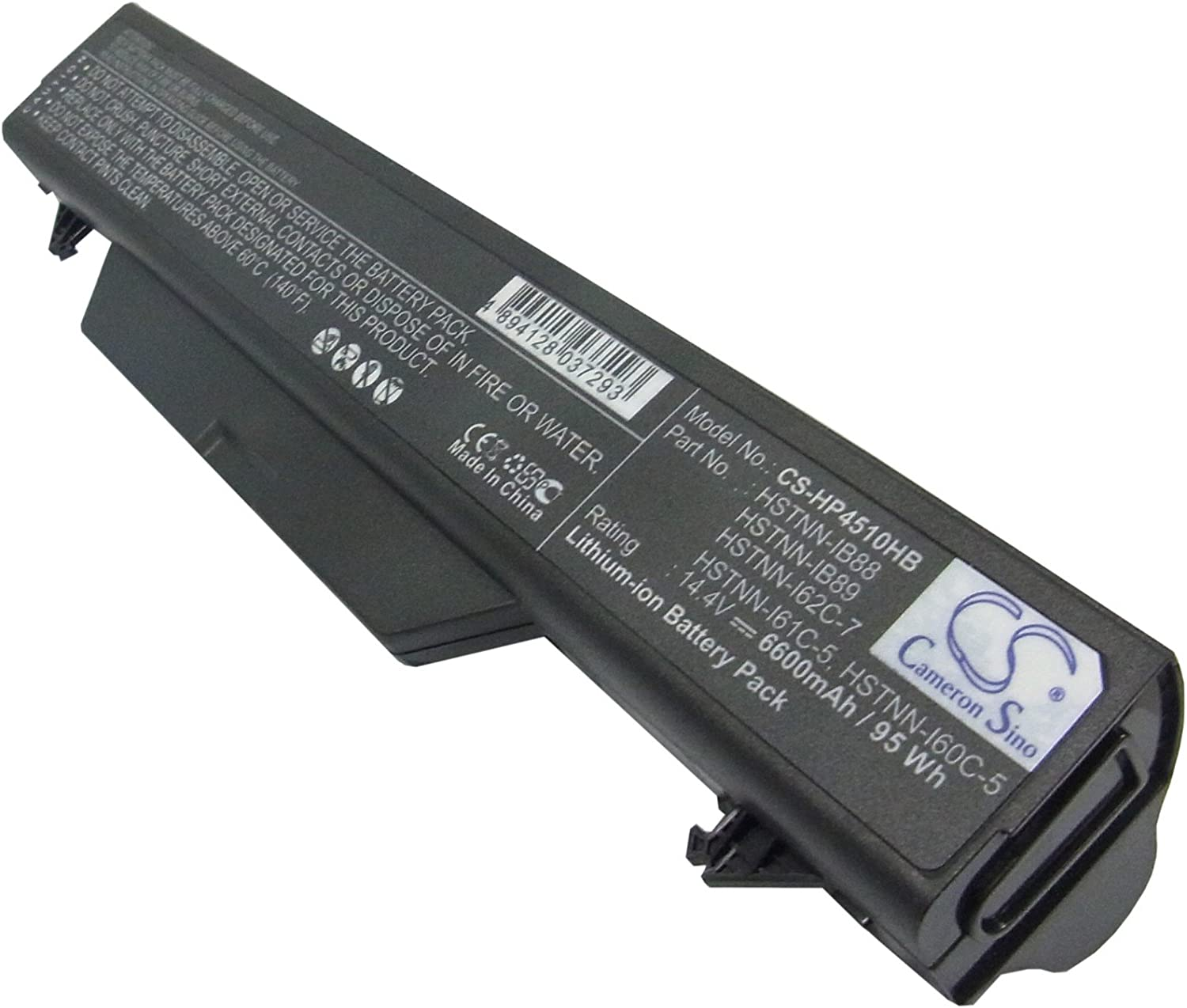 Replacement Battery for HP Probook 4510s, ProBook 4510s/CT, Probook 4515s, ProBook 4515s/CT, Probook 4710s, ProBook 4710s/CT, Probook 4720s