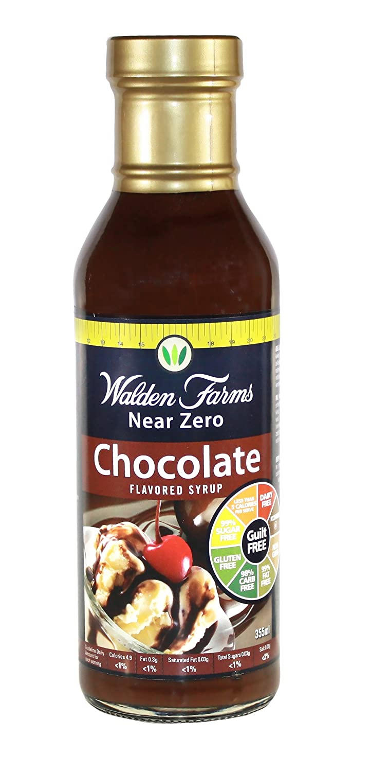 Amazon.com : Walden Farms, Chocolate Syrup, Fat Free, 12 oz : Grocery &  Gourmet Food