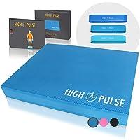 High Pulse® XXL Balance Pad incl. Fitness Band Poster - Balancekussen voor een verbeterd evenwicht, coördinatie en…