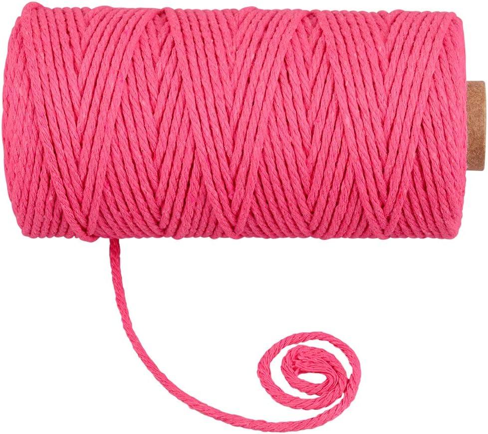 Rebordear Tela Hilo para Fabricaci/ón De Joyas DIY Abalorios Pulsera Collar 1mm Hilo de Nylon HQdeal 100 m Cord/ón el/ástico Cuerda arcoiris Cuerda de Abalorios