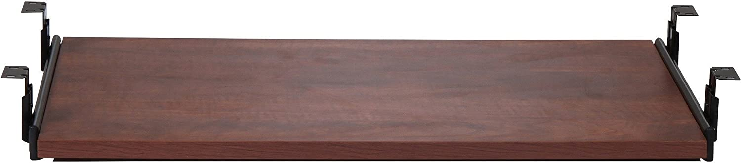 "Lorell 87526 Keyboard Tray, 26""x15-3/8"", Cherry"