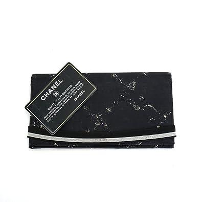 e9e1a15cf97e Amazon | (シャネル)CHANEL 長財布(小銭入れなし)旧トラベルライン ...