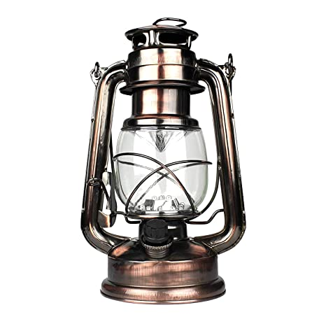 Retro Lamp Iron Kerosene Lamp Hurricane Lantern Camping Oil