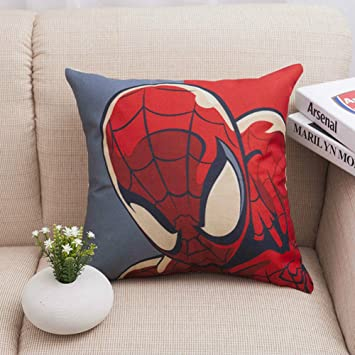 Penveat Super Heros Spiderman Canape Taie D Oreiller Coque The