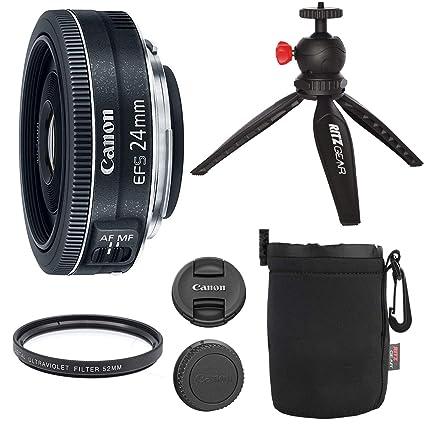 Ritz Camera Canon EF-S 24mm f/2 8 STM Lens Camera Lens 12