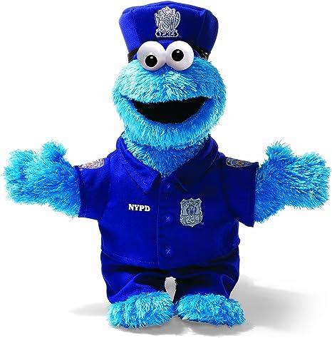 Barrio Sésamo - Peluche del Monstruo de Las Galletas policía de NY ...
