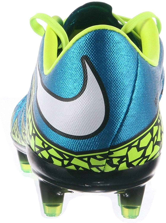 9105d197d BLUE LAGOON/WHITE-VOLT-BLACK 7.5 Sz 10.5 744947-400 Nike Womens Hypervenom  Phinish FG - Black