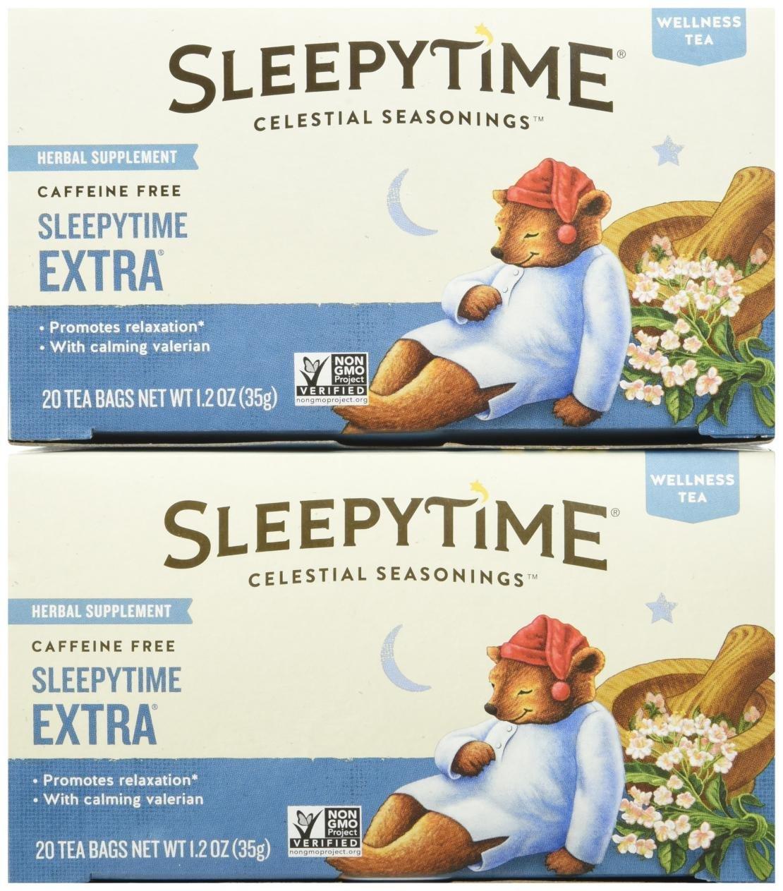 Celestial Seasonings Sleepytime Extra Tea Bags, 20 ct, 2 pk