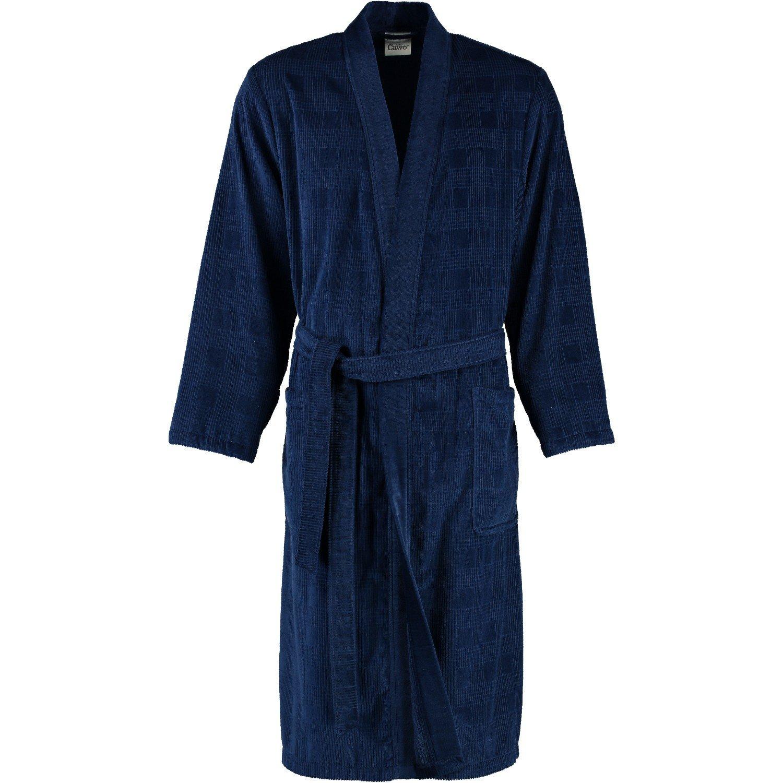 Cawö - Herren Velours Bademantel Kimono in verschiedenen Farbtönen (3807/GG8725)