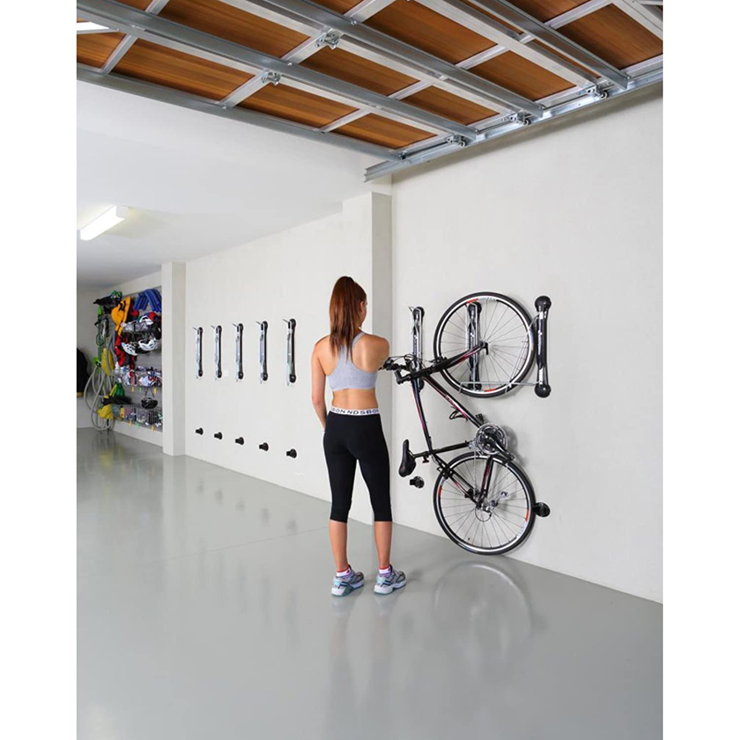 Amazon gear up steady rack 1 bike vertical storage rack amazon gear up steady rack 1 bike vertical storage rack black one size sports outdoors magicingreecefo Gallery