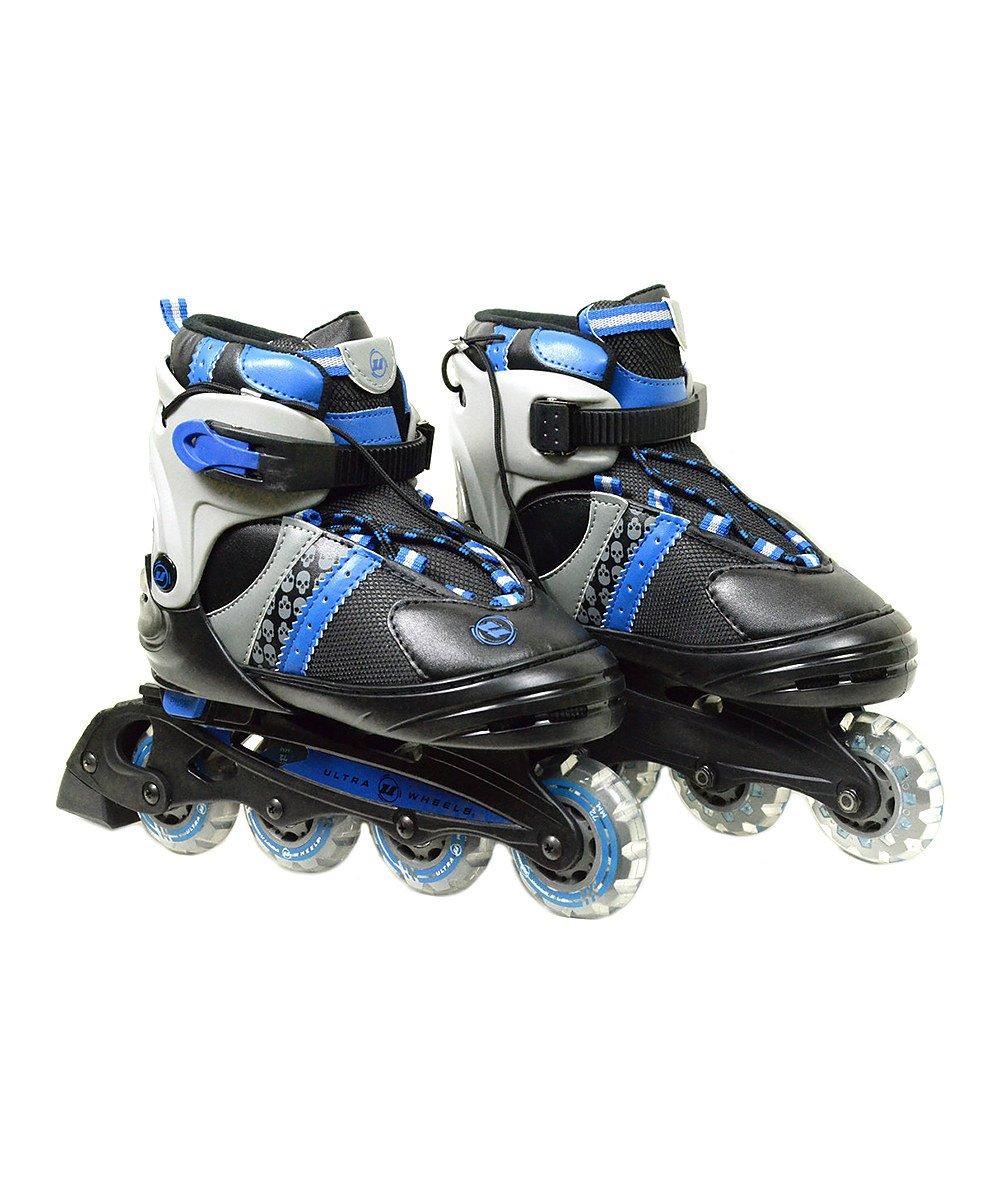 Black & Blue Ultra-Wheels Transformer In-Line Skates 5-8