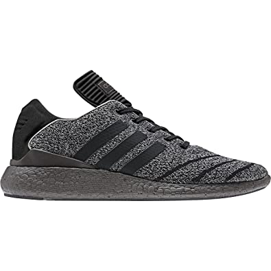 adidas Skateboarding Men s Busenitz Pure Boost PK Charcoal Solid Grey Core  Black Trace Grey 969552f07