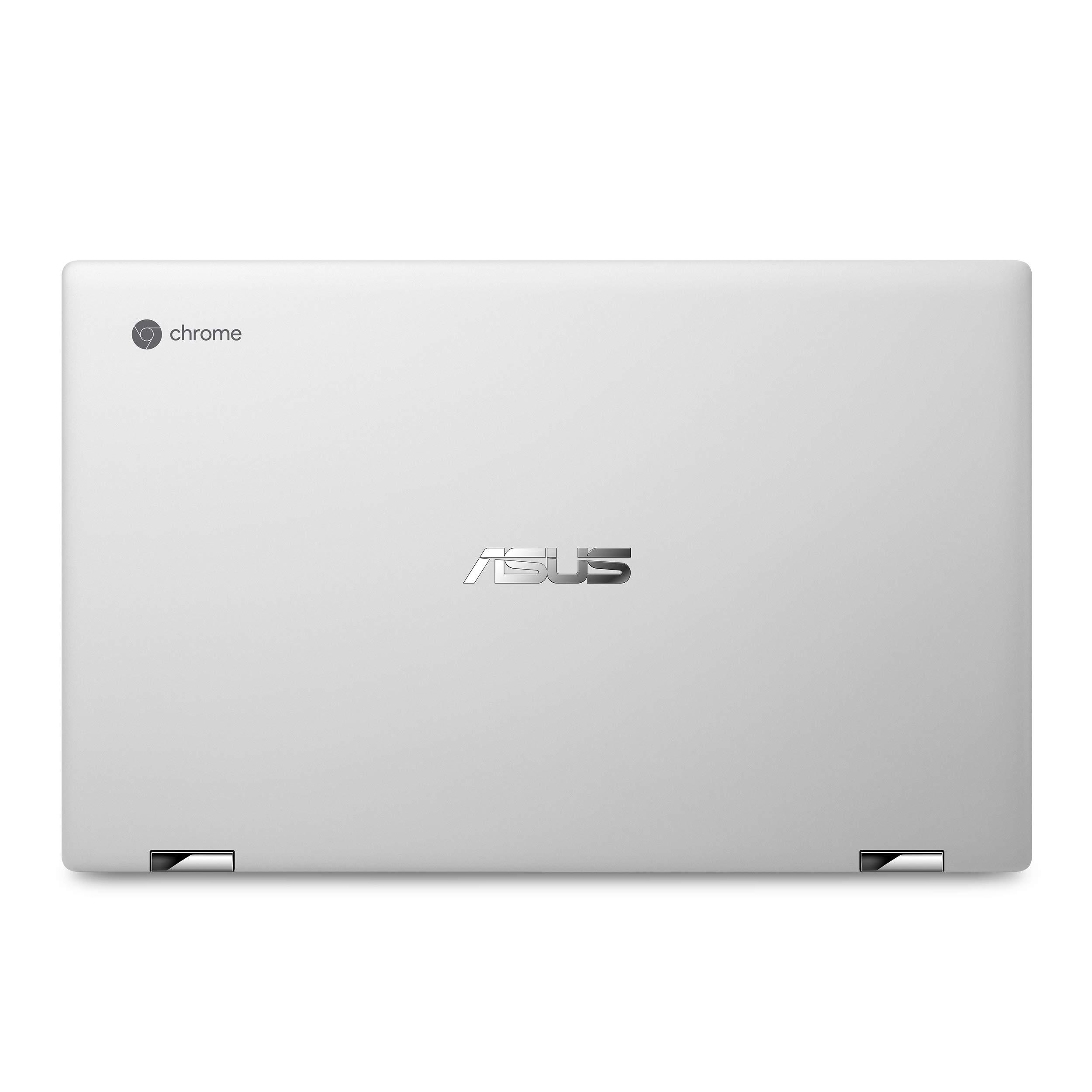 ASUS Chromebook Flip C434TA-DSM4T 2-in-1 Laptop 14'' Touchscreen Full HD 4-Way NanoEdge, Intel Core M3-8100Y Processor, 4GB RAM, 64GB eMMC Storage, Chrome OS by ASUS (Image #3)