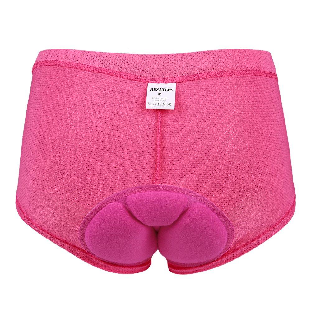 Baoblade Women Cycling Underwear Shorts Underpants 3D Gel Padded Biking Bicycle Cycling Brief Underwear Bike Shorts for Road /& Mountain Bike