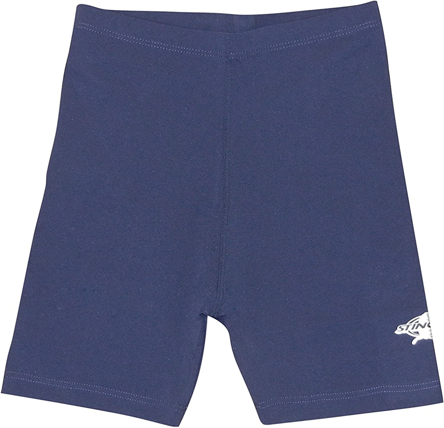 Stingray Girls Sun Protection Jammer Swim Shorts Pink and Navy