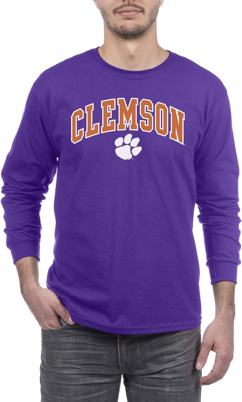 Elite Fan Shop NCAA Mens Long Sleeve T Shirt Alt Arch