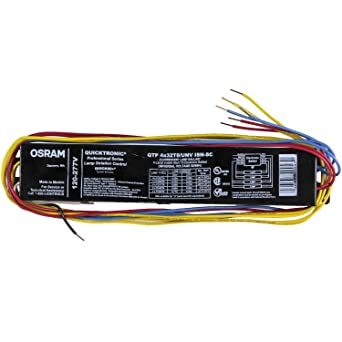 Sylvania / Osram 49908 - QTP4X32T8/UNV-ISN-SC-B T8 Fluorescent ... on wiring diagram for f96t12, 4 wire ballast to 5 wire ballast, wiring diagram for electronic ballast, wiring diagram for emergency ballast, wiring diagram for sign ballast,
