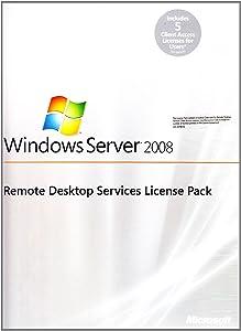 Windows Remote Desktop Services - Client Acess Licenses 2008 MLP - 5 User