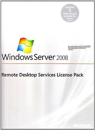 Microsoft Windows Remote Desktop Services 2008 - R2 5 User