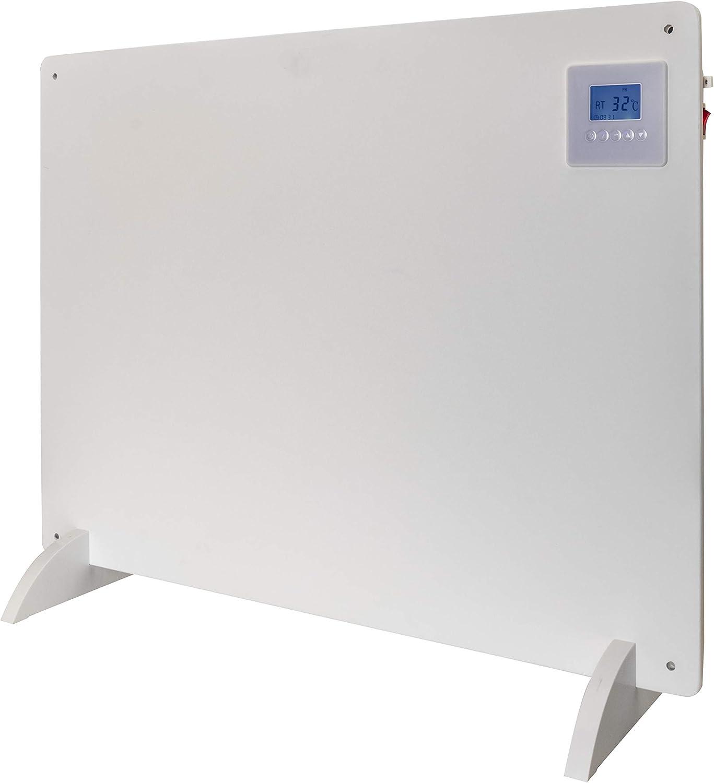 Bimar Panel Calefactor de Pared y Piso HC507, Calentador de Convección Natural, 550 Watt de Potencia, Convector de Fibra de Cemento Entintable con Pinturas al Agua, Protección IP20