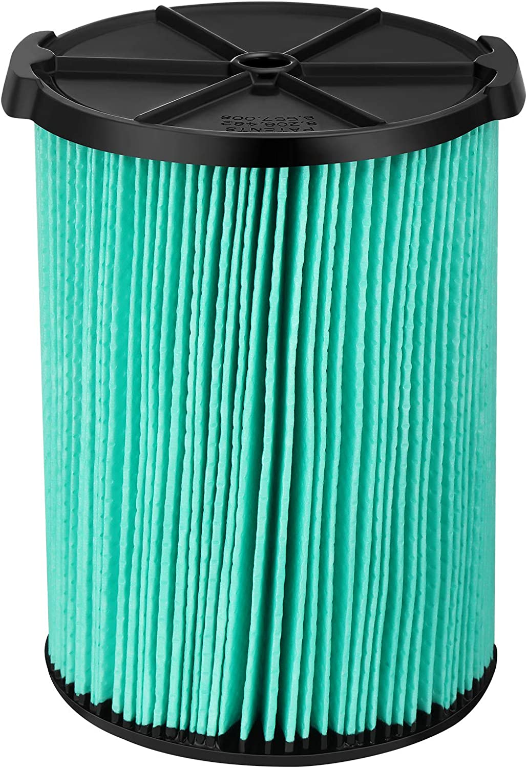 Cabiclean 5-Layer Pleated Replacement Filter Compatible with Ridgid VF6000 Wet/Dry 5-20 gallon vacuums