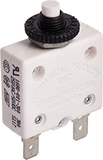 Calterm 08120 Heavy Duty AGC /& MDL Panel Mount Fuse Holder White 20A 12 AWG