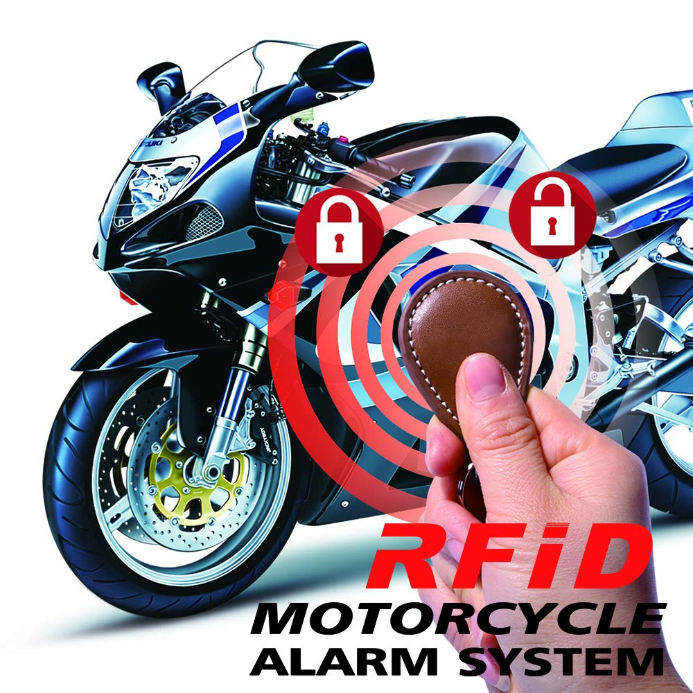 Amazon.com: BANVIE Motorcycle Anti-theft RFID Concealed ...