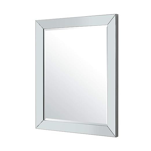 425f53f4945 Amazon.com  Naomi Home Mirrored Bevel Mirror 36