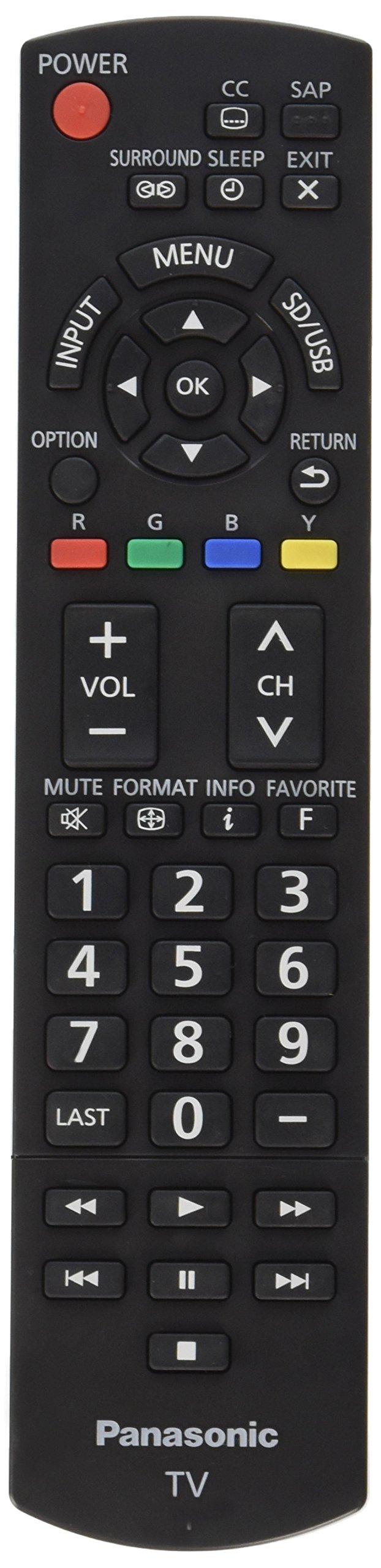 Panasonic N2QAYB000706 Remote Control