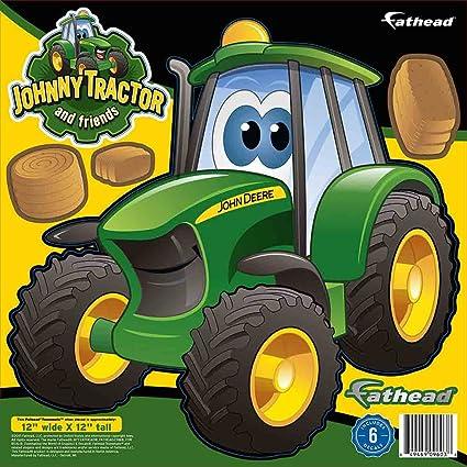 john deere cartoon tractor teammate fathead peel stick wall decal rh amazon com john deere cartoon tractor john deere cartoon images